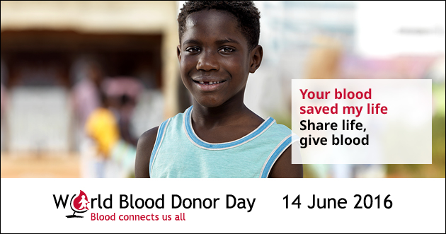 World Blood Donors Day