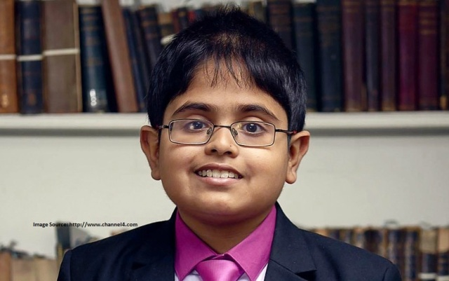Indian-origin TV star crowned 'Child Genius' in UK