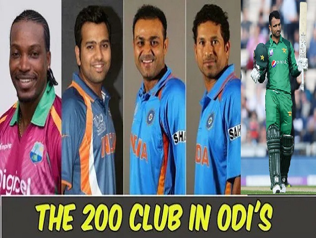 Players with double centuries in ODIs