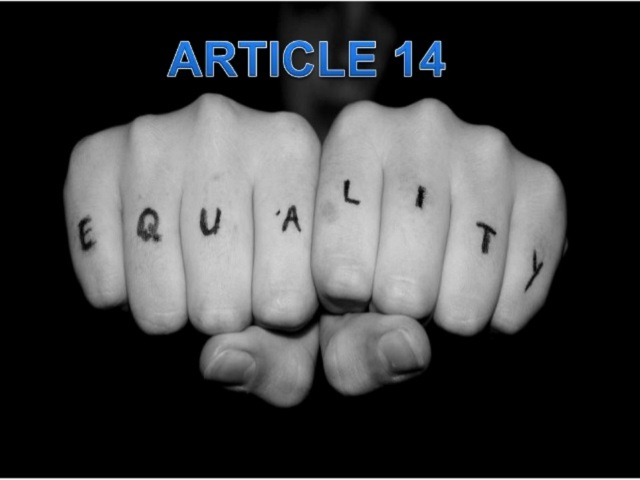 Article 14: Meaning and Provisions