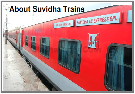 Indian Railways Suvidha Train: Ticket booking, Ticket