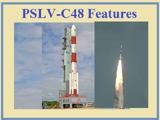 About PSLV-C48 and RISAT-2BR1 features