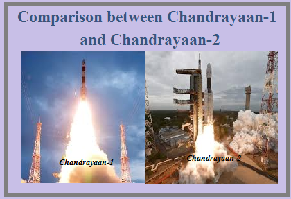 Chandrayaan-1 vs Chandrayaan-2
