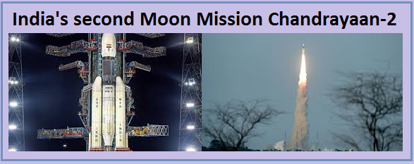 chandrayaan-2 moon mission launched