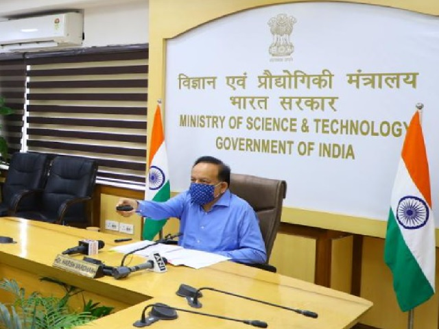 Health Minister Dr. Harsh Vardhan launches CuRED, COVID-19 clinical trials website