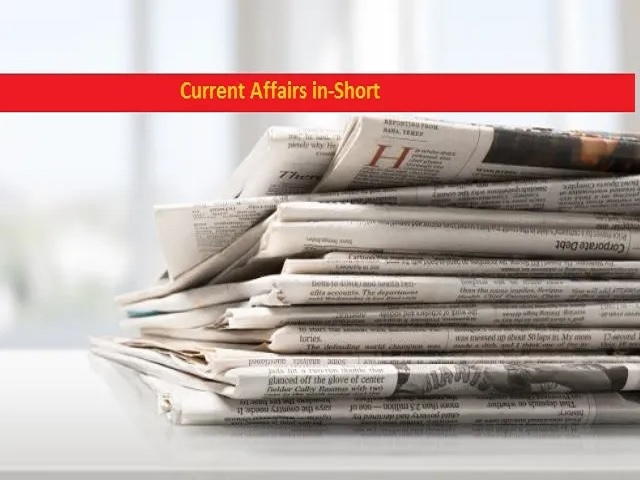 Current Affairs in Short: 26 March 2020 1