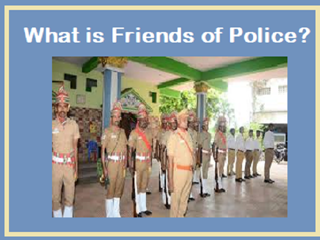 What is Friends of Police service?