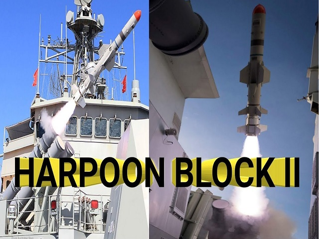 Harpoon Block II Missile