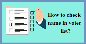 How to check name in Voter List?