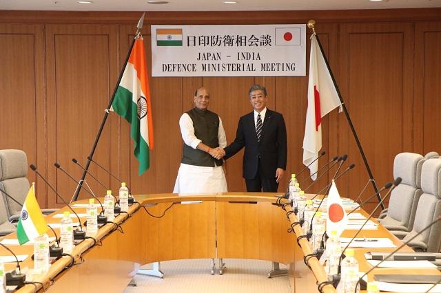 जापान-भारत रक्षा मंत्री बैठक टोक्यो में आयोजित
