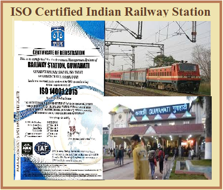 Which is ISO certified first Railway Station in India?