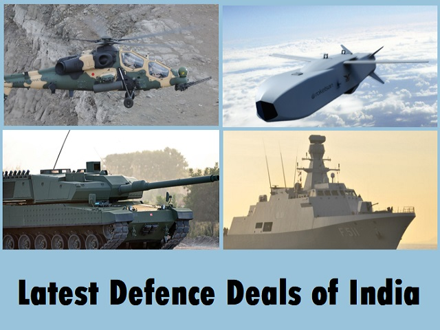 Defence Deals of India