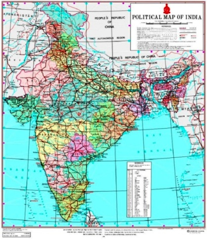 New Map Of India This Is How New J K Ladakh Map Looks