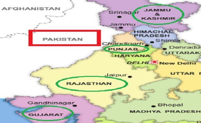 India-Pakistan border facts