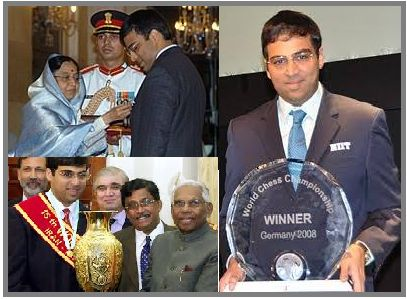 Viswanathan Anand Awards and Achievements