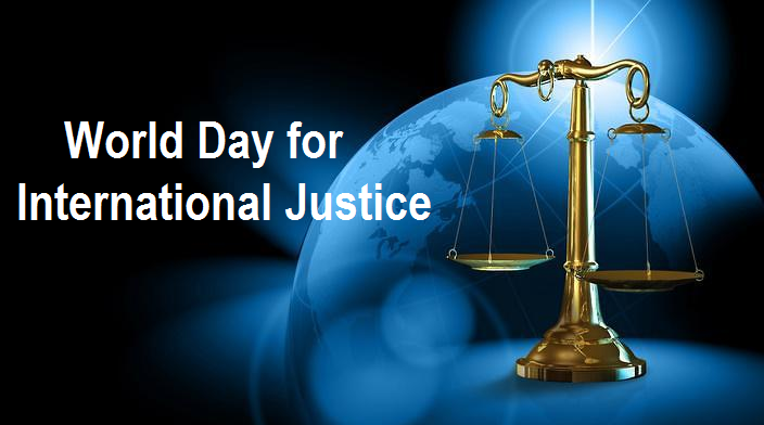World Day for International Justice 2019: Significance and History
