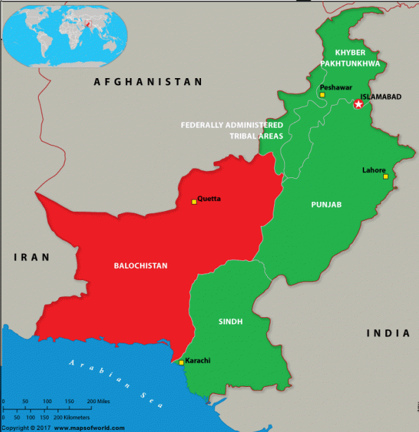 Balochistan Province of Pakistan: Facts on its Geography and