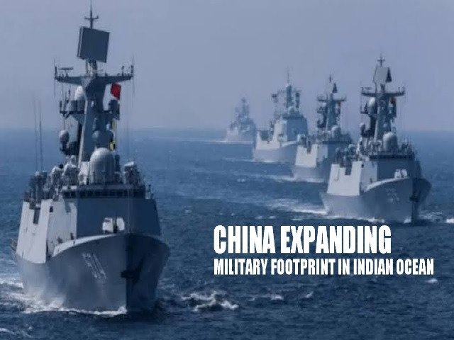 China expanding its footprints in the Indian Ocean