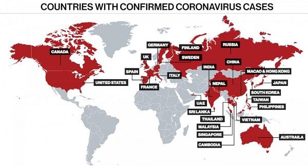 corona-outbreak-world
