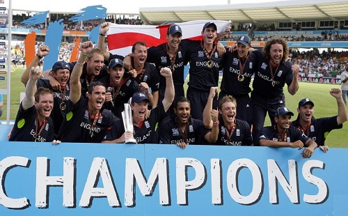 England Team winner T20 Cricket World Cup