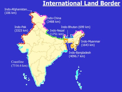 indian-border-countries