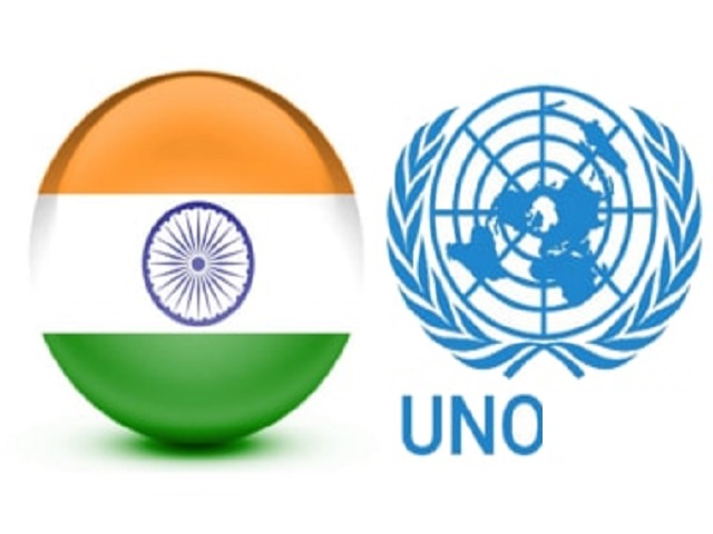 Indian entry into UNO as non permanent member