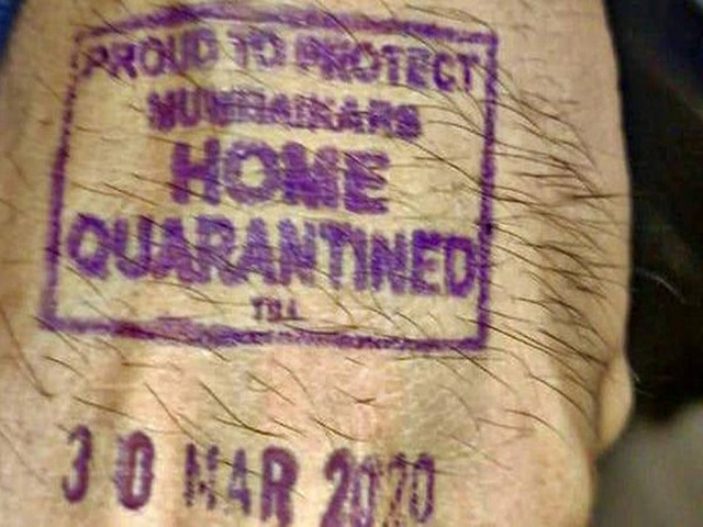 Election Commission allows use of indelible ink to stamp home quarantine people 1