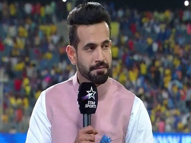Irfan Pathan as Commentator