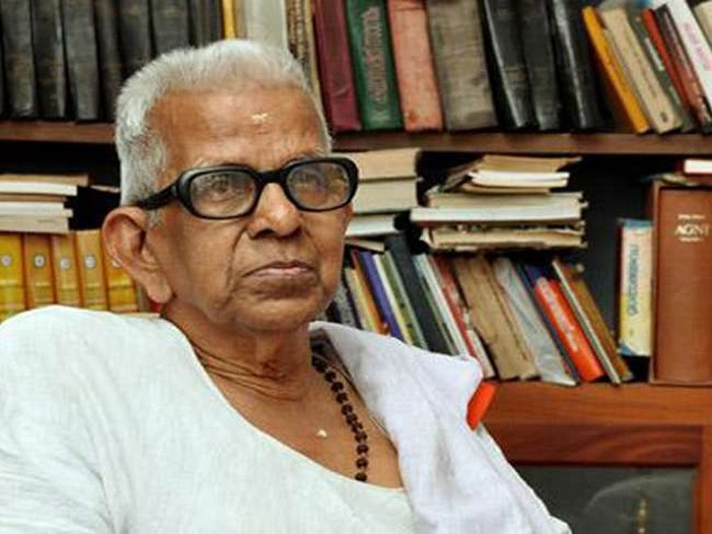 Jnanpith Award 2019: Malayalam poet Akkitham bags 55th Jnanpith Award