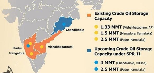 location-of-strategic-petroleum-reserves-in-india