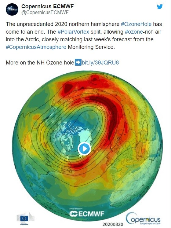 Ozone Layer tweet