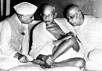 patel-gandhi-nehru