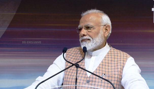 PM Modi address to ISRO Scientists