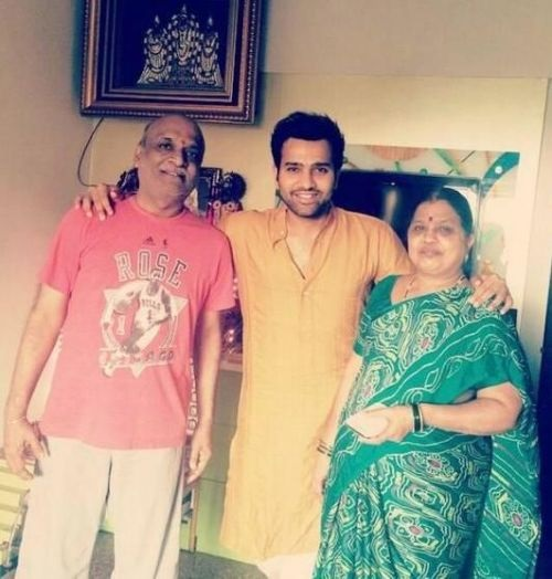 rohit-sharma-family