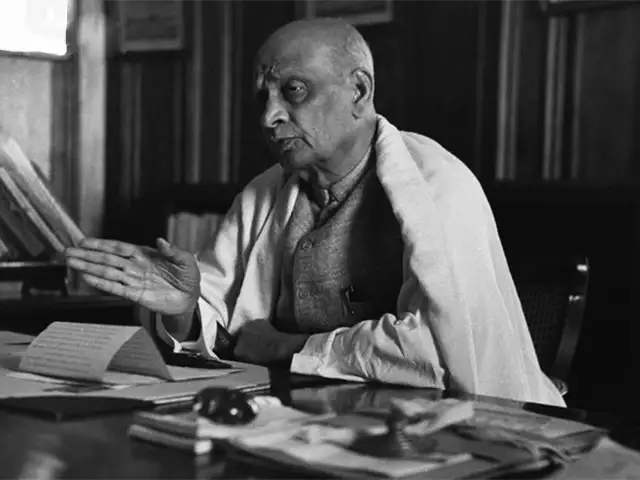 Sardar Patel in Office