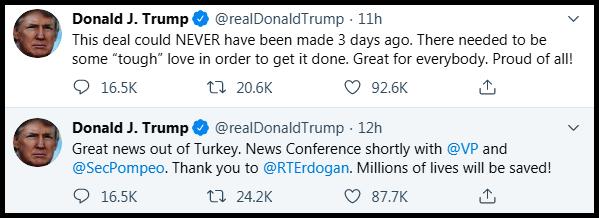 Trump tweets