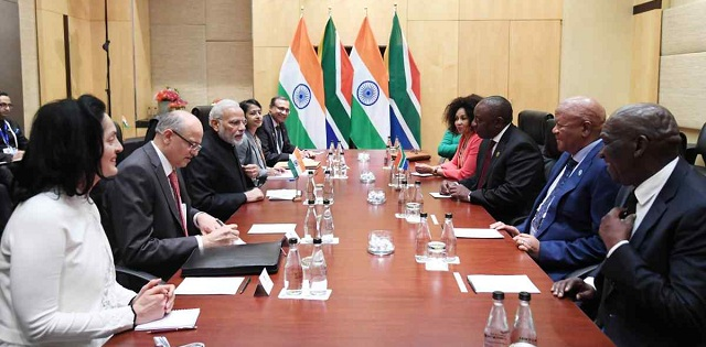 BRICS Summit 2018: Johannesburg Declaration adopted