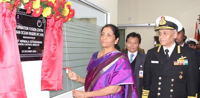 Indian Navy's Information Fusion Centre for IOR launched