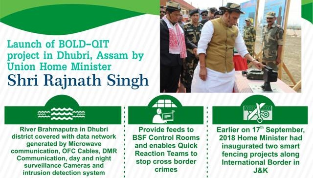 Home Ministry launches smart fencing on Indo-Bangladesh border to deter illegal infiltration