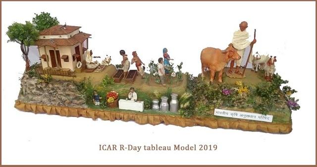 ICAR Republic Day tableau Kisan Gandhi wins first prize