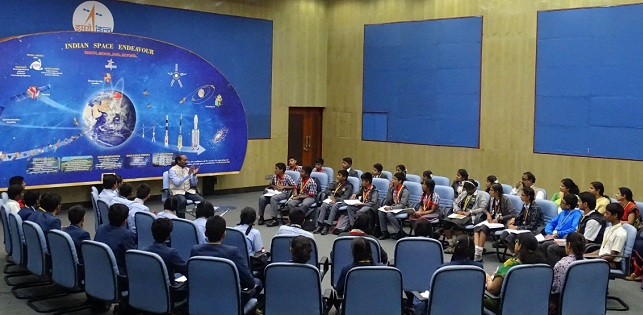 ISRO launches new platform, 'Samwad with Students'