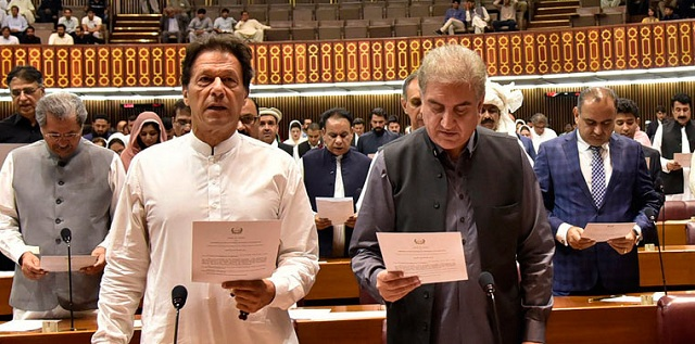 Image result for Imran Khan sworn in as 22nd Prime Minister of Pakistan