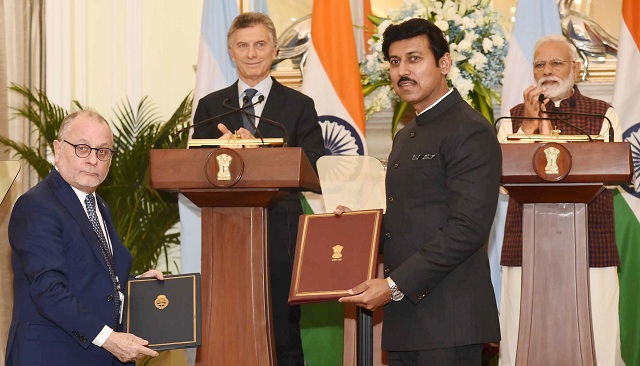 India, Argentina sign MoU, release Joint Statement