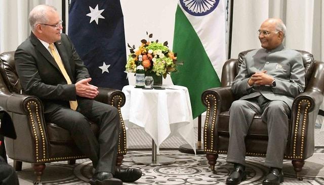 India, Australia sign five agreements