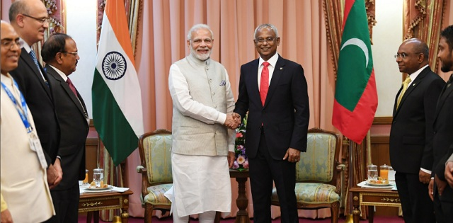 Image result for •	India, Maldives released Joint Statement