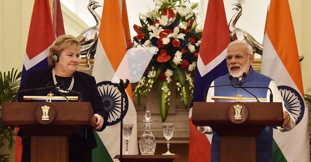India, Norway sign MoU, release Joint Statement