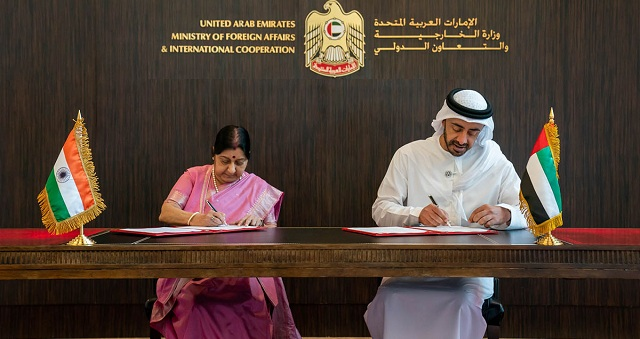 India, UAE sign currency swap deal