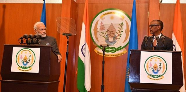 India, Rwanda sign 8 agreements