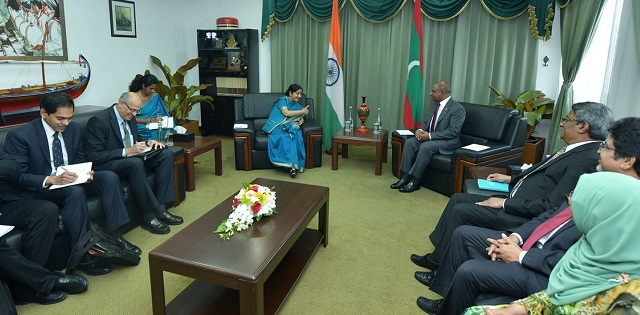 India, Maldives sign three agreements