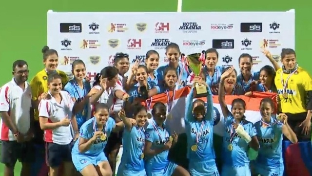 Hockey India announces cash awards for Asia Cup-winning women's team